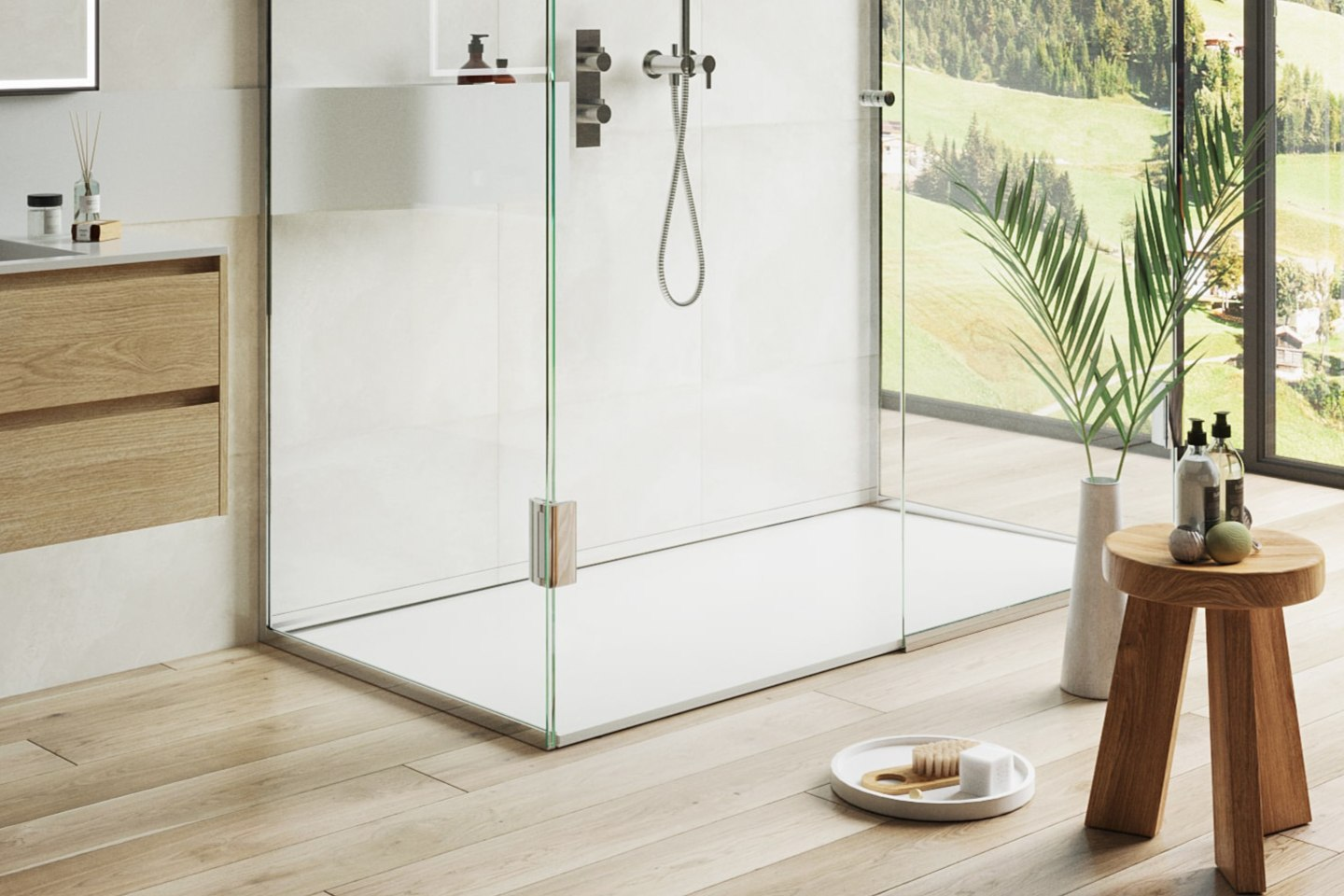 Wall Recessed Linear Drains